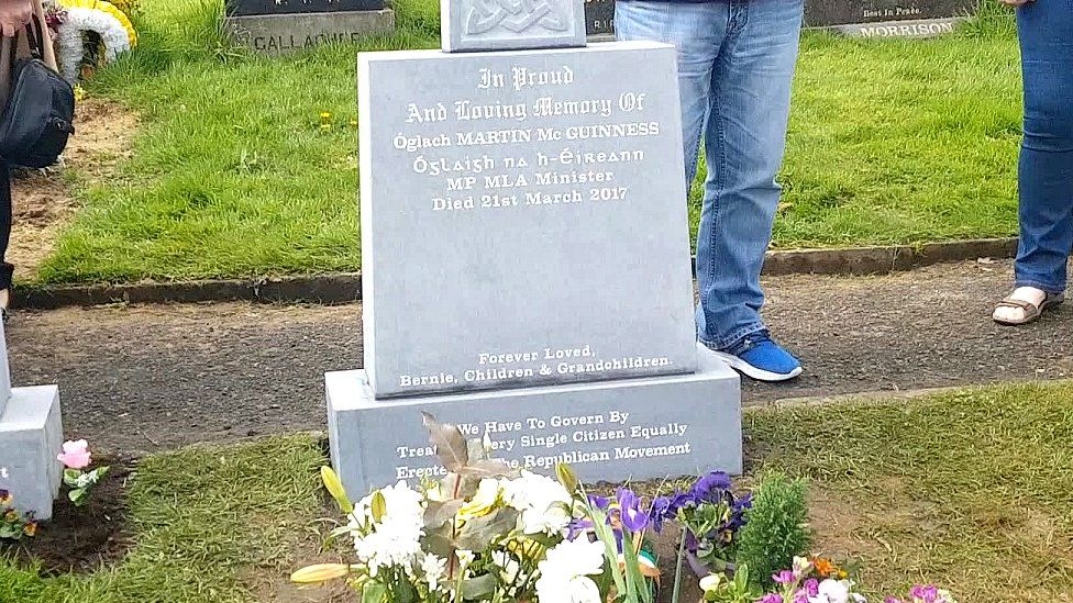 McGuinness headstone