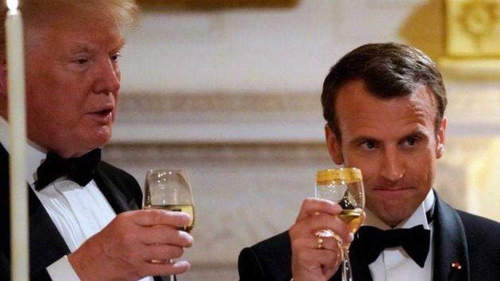 """ماكرون: """"هناك تقارب مع ترامب حول إيران وحرائق الأمازون ووقف الحرب التجارية"""""""
