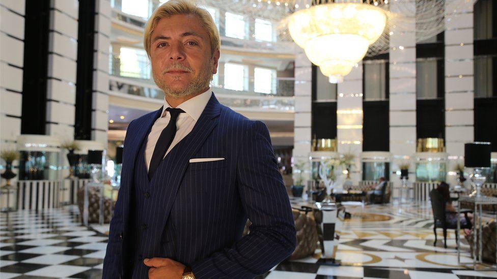 Tolga Comertoglu, director of the Delphin Imperial hotel