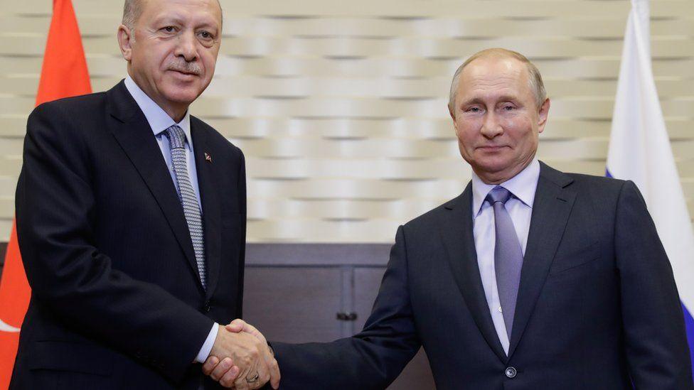 Путин и Эрдоган согласовали план прекращения турецкой операции в Сирии