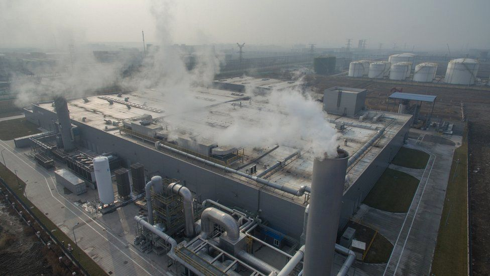 China chemical factory
