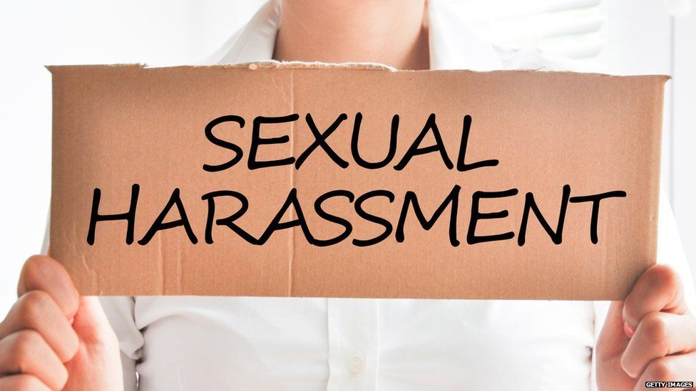 Sexual harassment sign