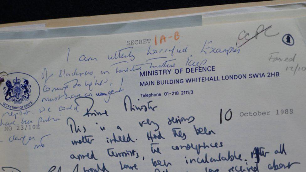 Litir bho Mhairead Thatcher