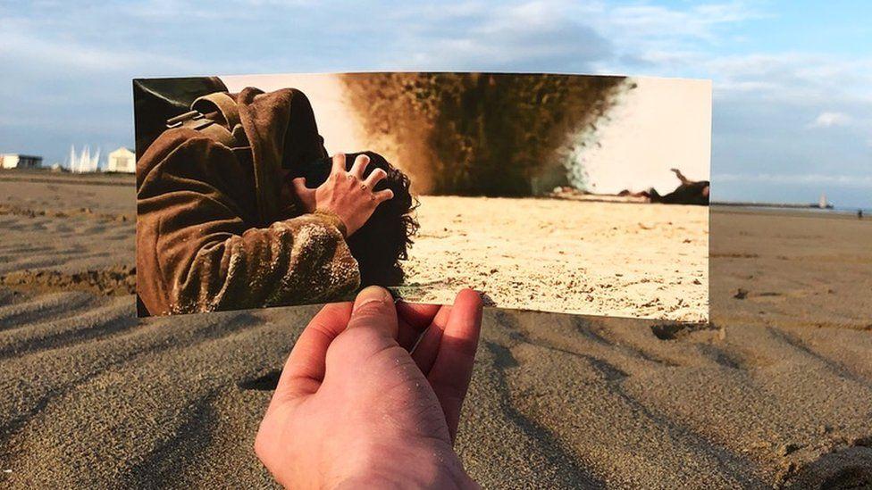 Dunkirk movie scene recreated