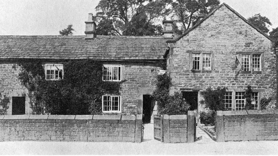 A house in Eyam, Derbyshire