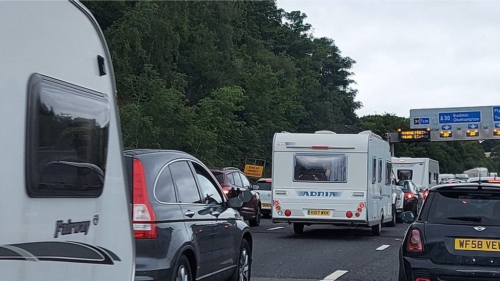Traffic on A30
