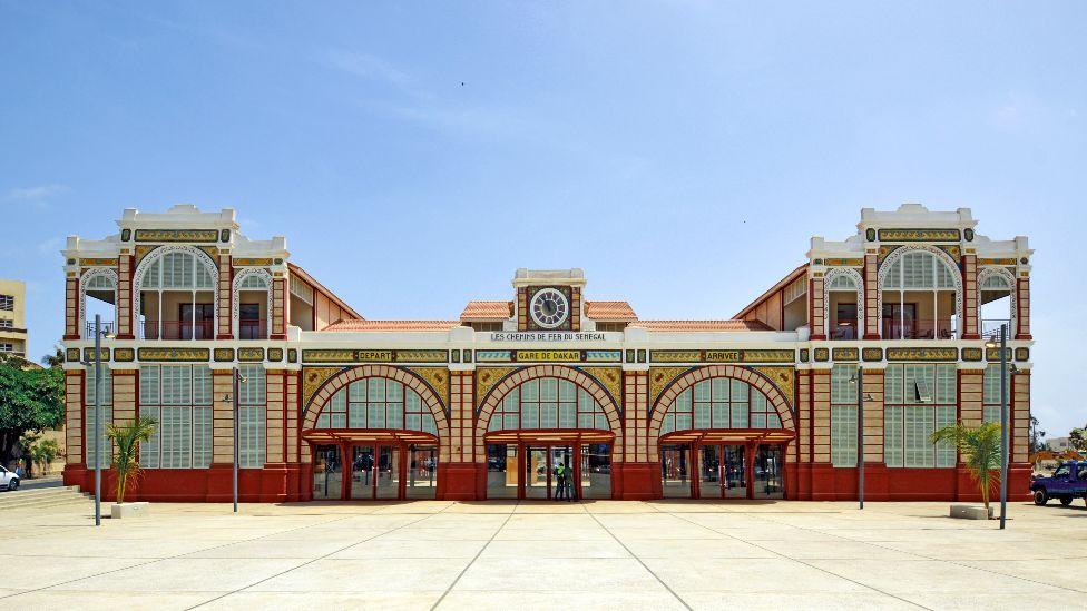 Dakar Railway Station, Senegal