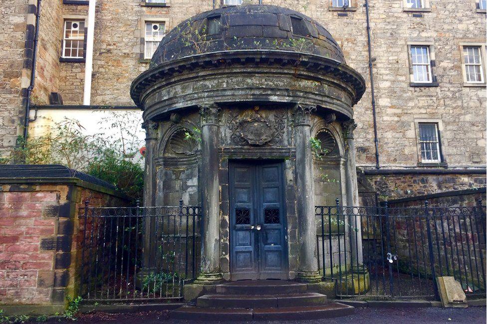 Sir George MacKenzie's tomb Pic: Angie Brown