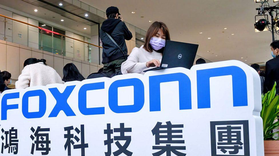 Taiwan tech giants Foxconn and TSMC to buy 10m Covid jabs thumbnail