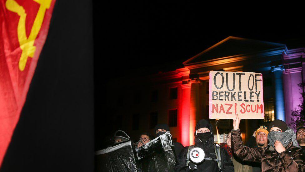 Protests at Berkeley