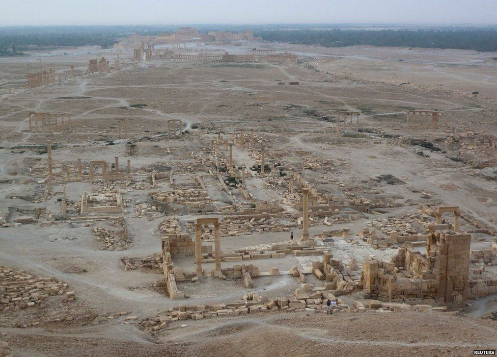 General view of Palmyra (5 August 2010)