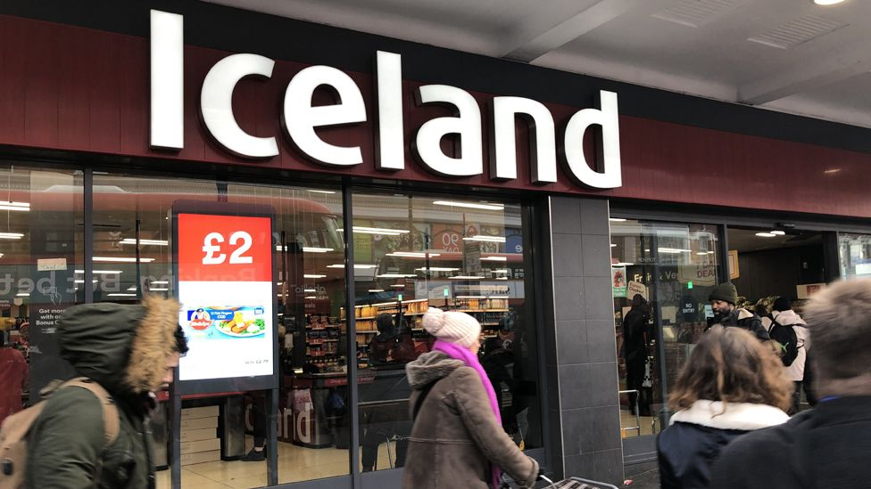 Iceland store in Brixton