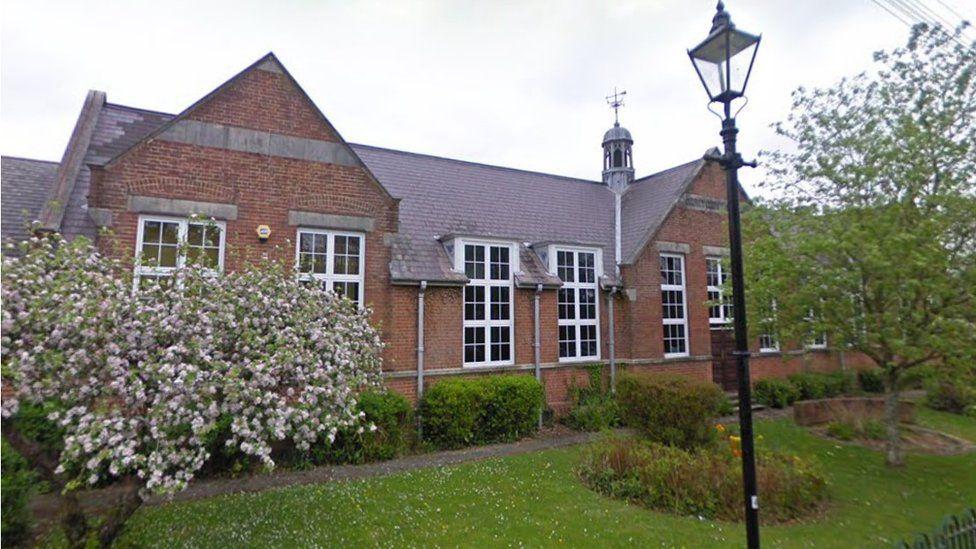 Former Wimborne First School building