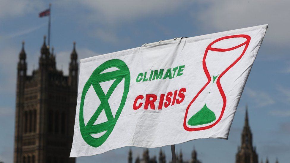 In Pictures: Climate change protest 'The Time is Now' descends on Westminster