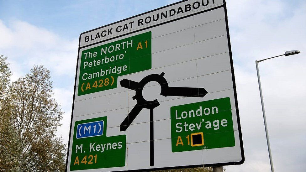 Black Cat Roundabout