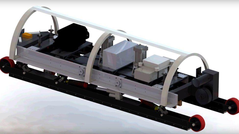 Concept Hyperloop pods