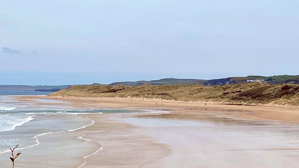 Beaches across the north coast were quiet on Thursday
