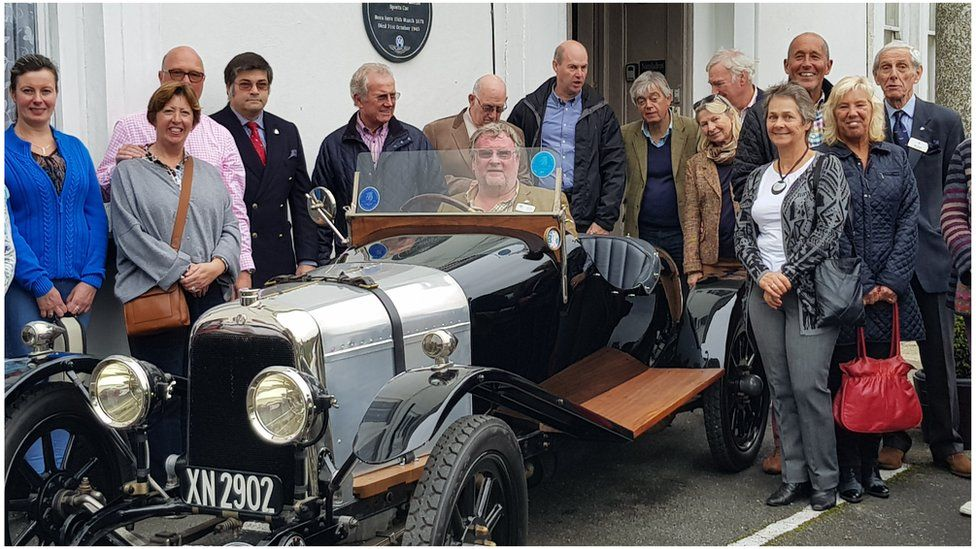 Aston Martin Founder Remembered In Cornwall Bbc News