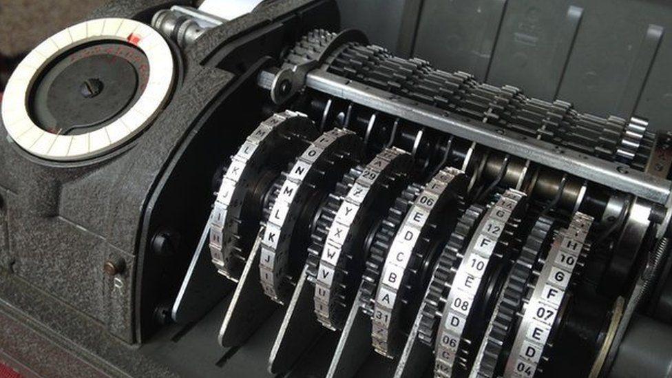 Swiss company Crypto made CX-52 encryption machines