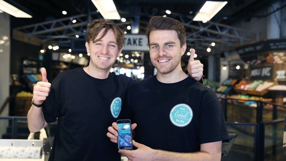 Co-founders Jamie and Chris (right)