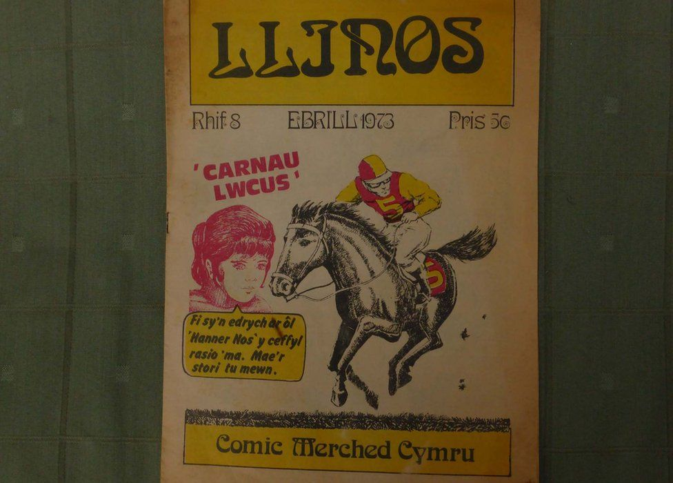 Comic Llinos