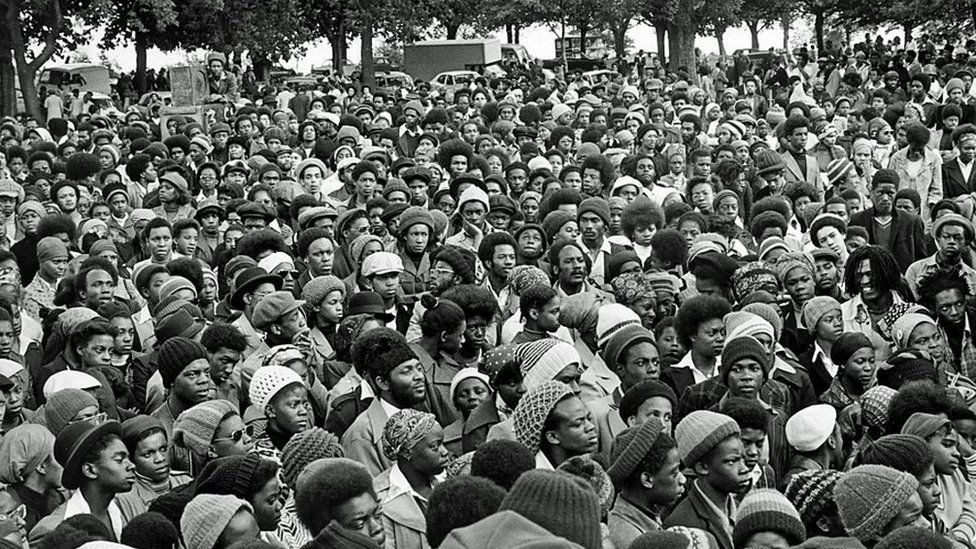 African Liberation Day Handsworth crowd 1977