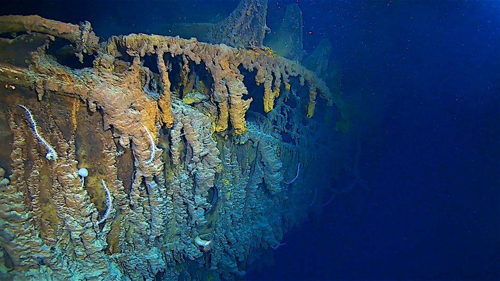 Expedição revela que o Titanic está se desintegrando