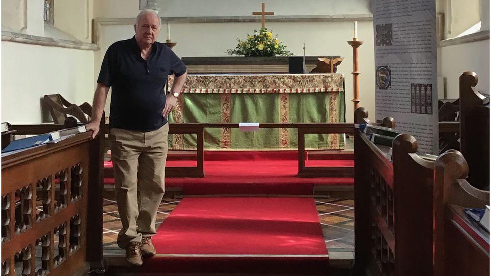 Churchwarden Robert Allen