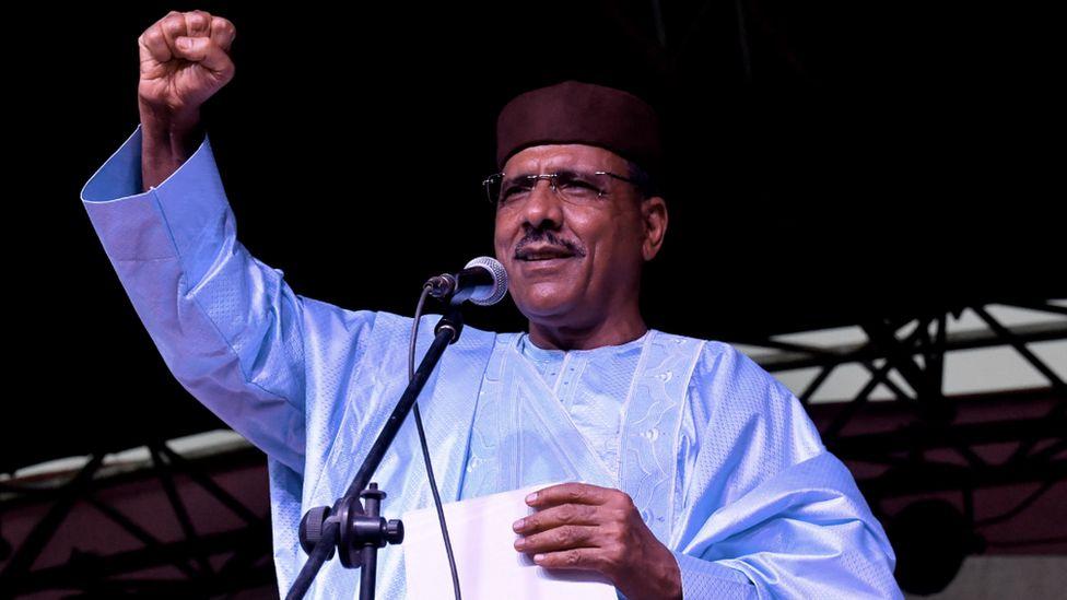 Niger's President Mohamed Bazoum