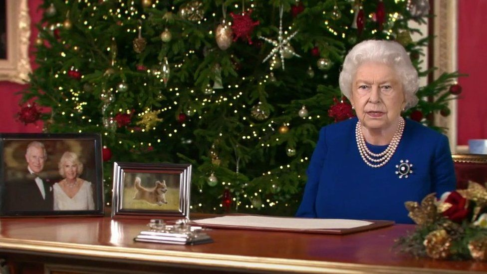 2021 Queen Christmas Message Deepfake Queen To Deliver Channel 4 Christmas Message Bbc News
