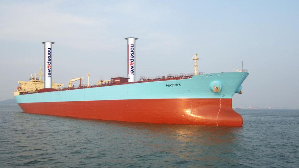 La innovadora solución finlandesa para reducir el impacto de los cargueros, uno de los vehículos más contaminantes del planeta