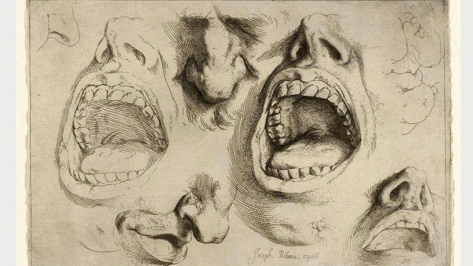 Де Рибера пользовался услугами натурщиков, делая множество набросков высокой анатомической точности - таких, например, как этот (1622 г.)
