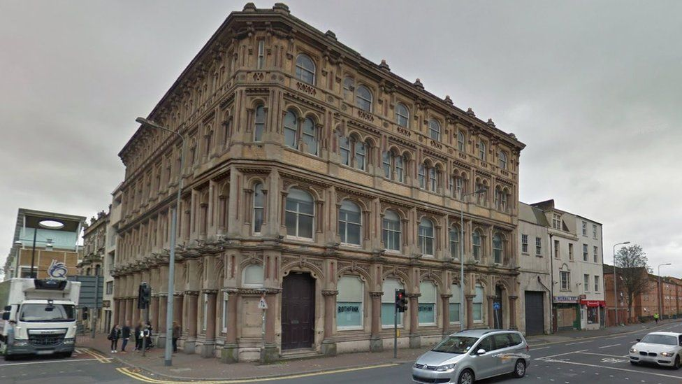 The former bank
