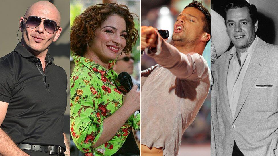 Pitbull, Estefan, Martin and Arnaz