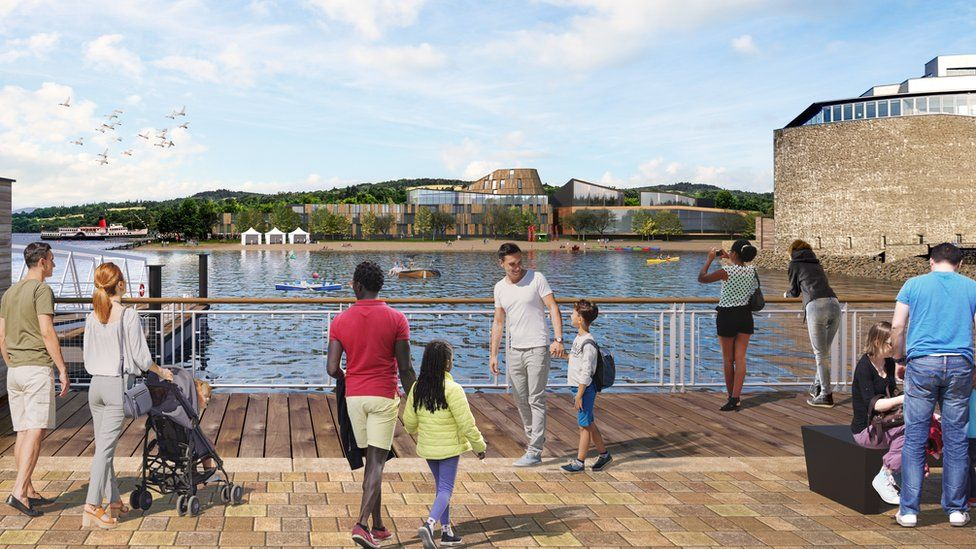 Why Did 55 000 People Object To Loch Lomond Development Plans Bbc News