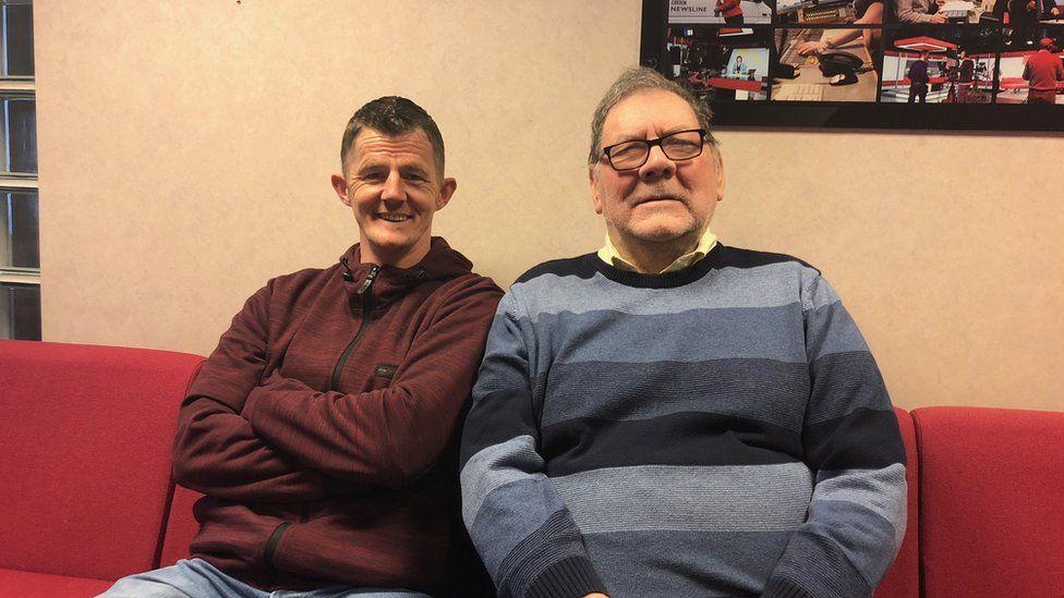 Melvin Boyd and Pastor John Greenaway