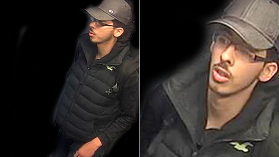 CCTV images of Salman Abedi
