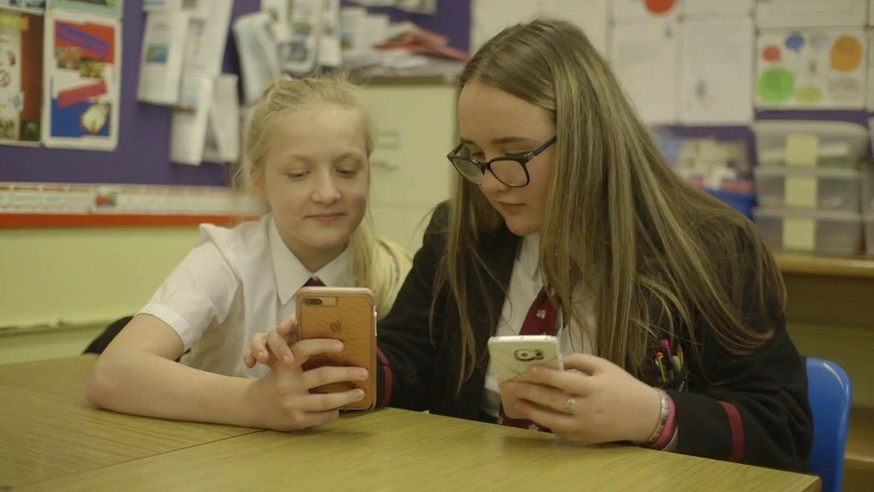 Pupils from Carrickfergus Grammar School produced a video looking at mental health issues
