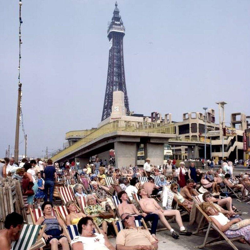 Blackpool deckchairs