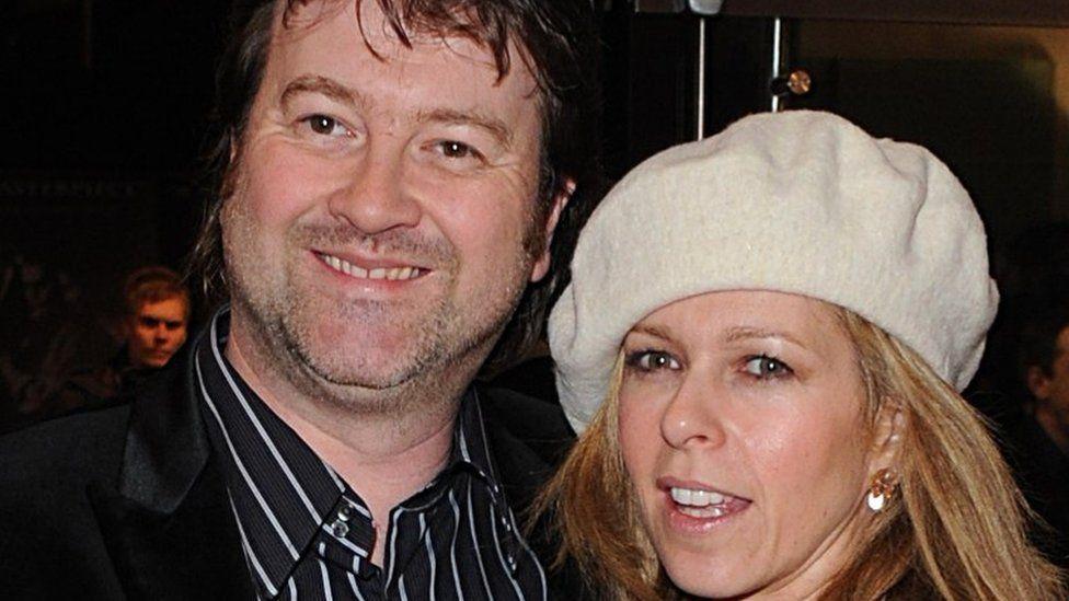 Kate Garraway with her husband Derek