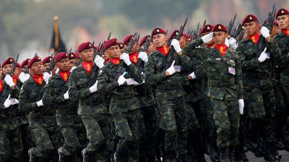 Thai military parade