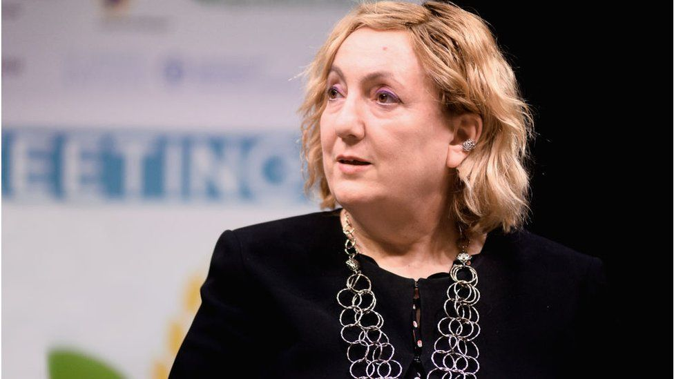 Italy's Deputy Foreign Minister, Emanuela Del Re