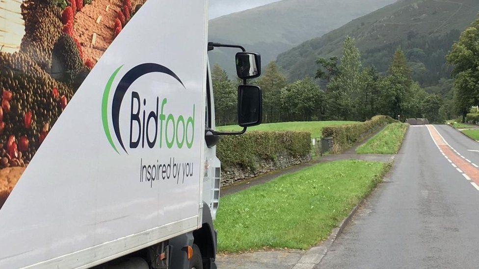 Bidfood lorry
