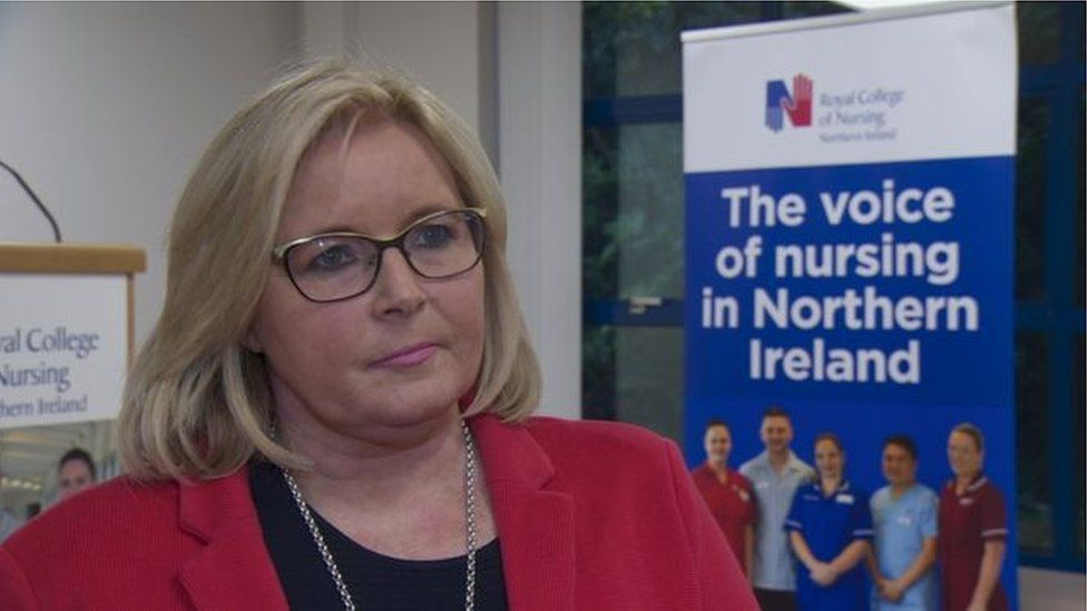 RCN Director Pat Cullen said members were very concerned that they are not getting access to proper PPE