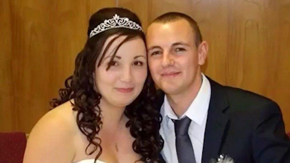 Chanice Bowen and Lee Mapstone