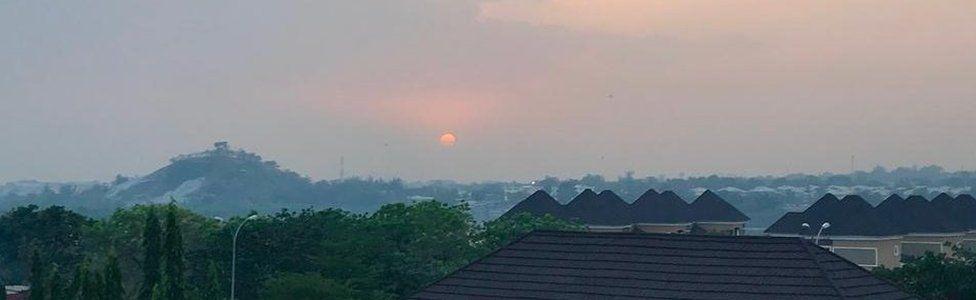 Skyline of Abuja