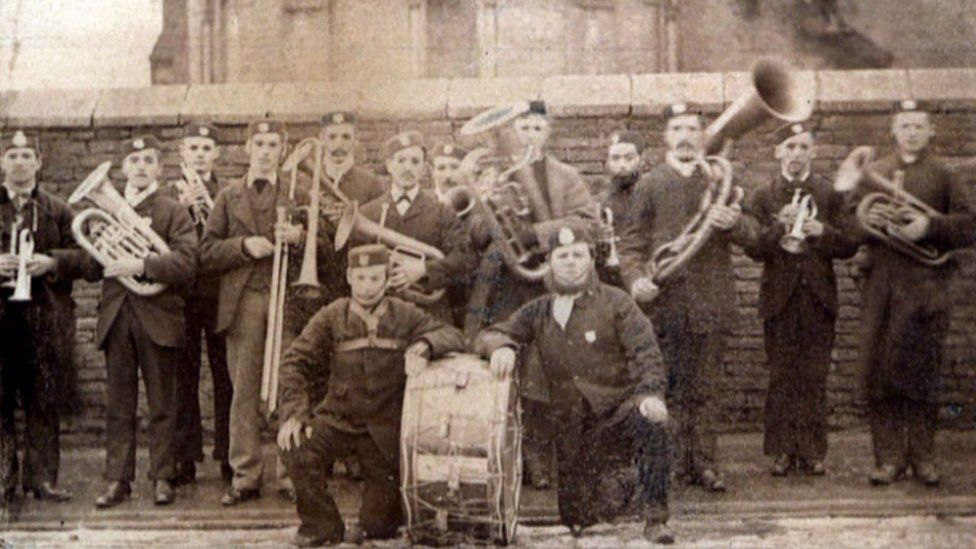 The first Salvation Army band
