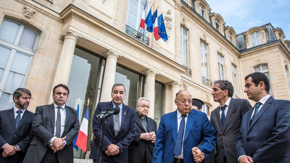 Religious leaders in France