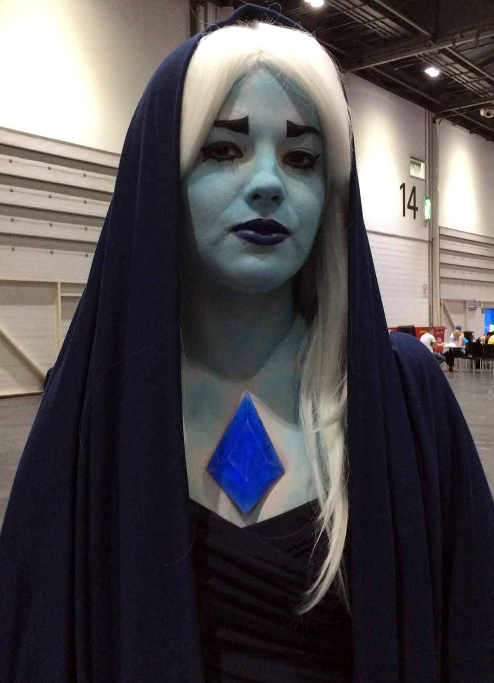 Grace Ford - as Blue Diamond from TV animation Steven Universe