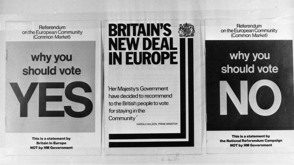 1975 European referendum literature